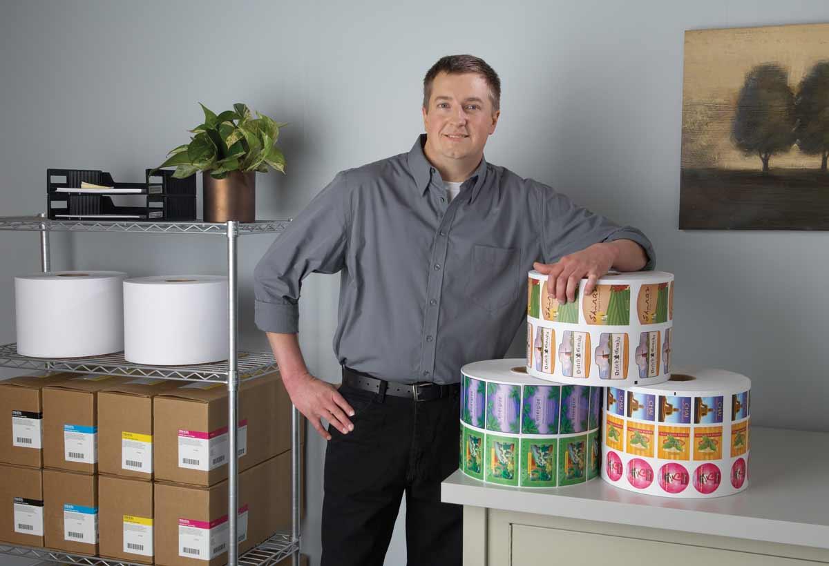 Правила за етикетиране на стоки - етикети от тиксо ленти