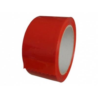 Цветно опаковъчно тиксо 48мм х 66м (червен цвят) на цена от 1,40 лв.