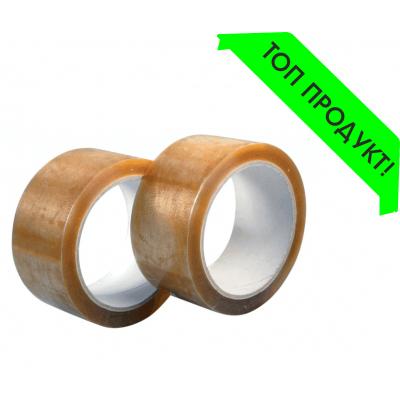 Опаковъчно тиксо 48мм х 100м (солвент, прозрачен цвят) на цена от 1,45 лв.